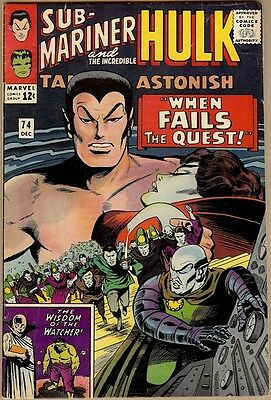 Tales To Astonish #74 - VG/FN