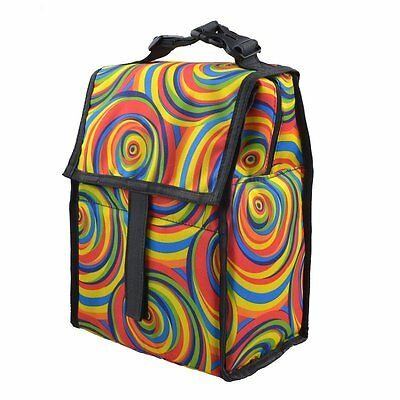 Freezable Lunch Bag with Zip Closure Surf Stripe, New, Free Shipping