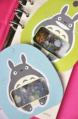 Japanese anime cartoon My Neighbor Totoro scrapbook stickers 10x6pcs (UK seller)