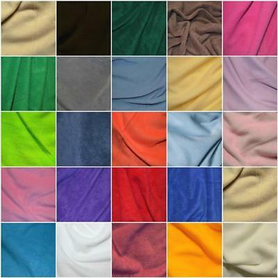 25 colours anti pill Polar FLEECE soft fabric material 150cm sold by metre