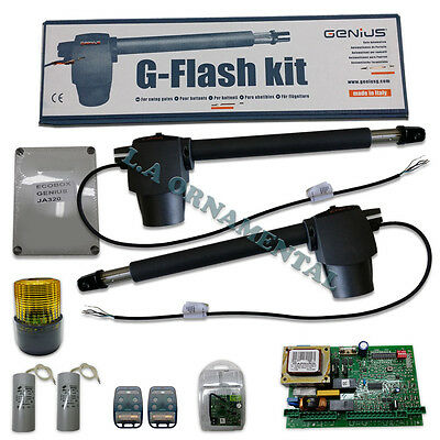 Genius G-Flash Kit 115v - 300lbs for Swing Residential Gate Automatic Operator