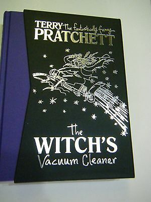 The Witch's Vacuum Cleaner Terry Pratchett Deluxe Slipcased Sealed First Edition