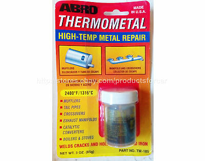 THERMOMETAL high-temp metal repair for catalytic converters boilers stoves muffl