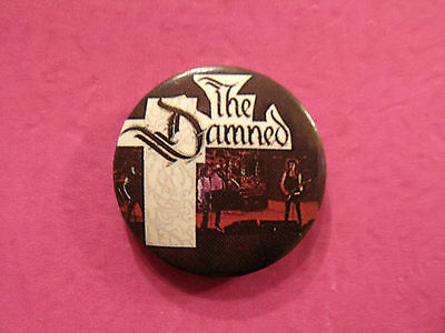 """The Damned Vintage Badge  1"""" Button Pin Uk Import"""