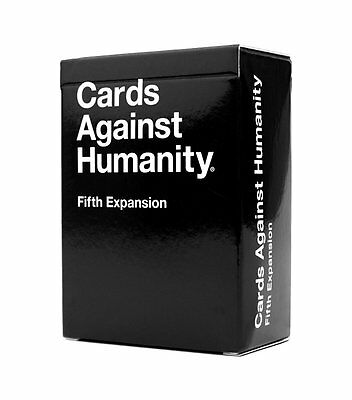 Cards Against Humanity: Fifth Expansion UK edition Original Game SALE!