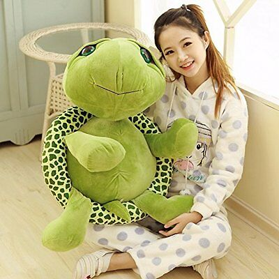 NEW10-27inches Plush Green Turtle Giant Large Stuffed Soft Plush Toy Doll Pillow