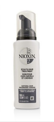 NIOXIN System 2 Scalp Treatment 3.38oz New Packages