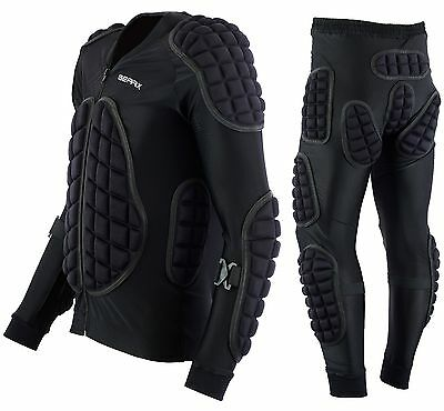 Motorcycle Body Armour Protective Jacket Trousers Suit