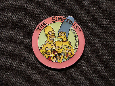 The Simpsons Vintage Enamel Pin Official 1990 Uk Import