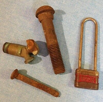 Vintage Metal Hardware lot of 4