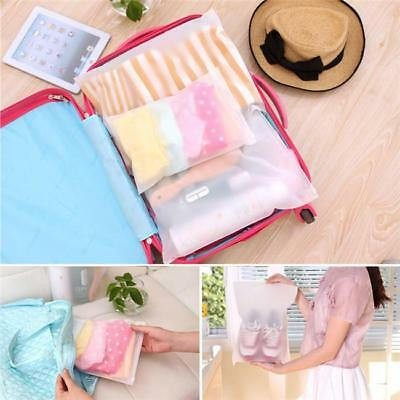 5pcs Waterproof Home Clothes Shoes Storage Packing Travel Luggage Organizer Bag