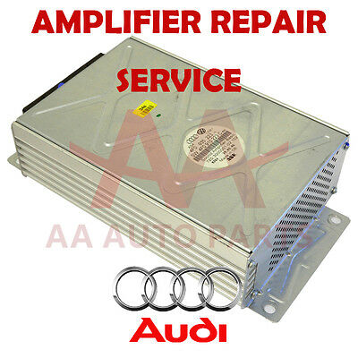 Audi Q7 A8 A6 TT BOSE Basic AMPLIFIER REPAIR SERVICE