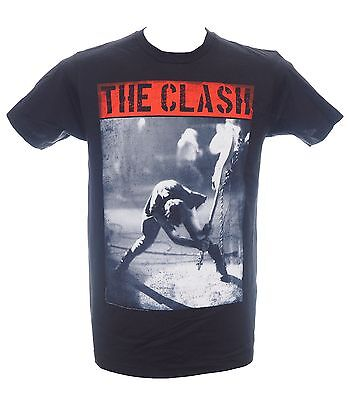 THE CLASH - SMASHING GUITAR - Official T-Shirt - Punk Rock - New S M L XL 2XL