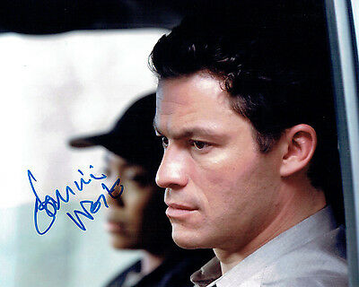 Dominic WEST The WIRE Jimmy McNULTY SIGNED Autograph 10x8 Photo AFTAL COA