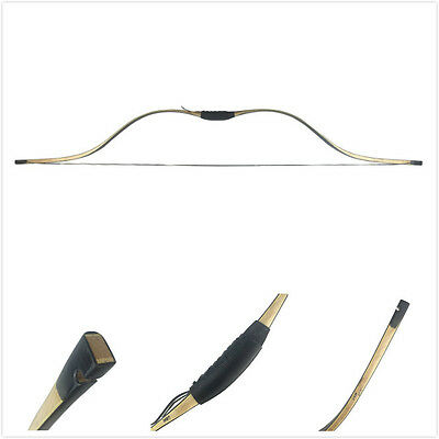 Traditional Tang Long Syhas Recurve Bow 20-60Lbs Maple Laminated Archery Chinese