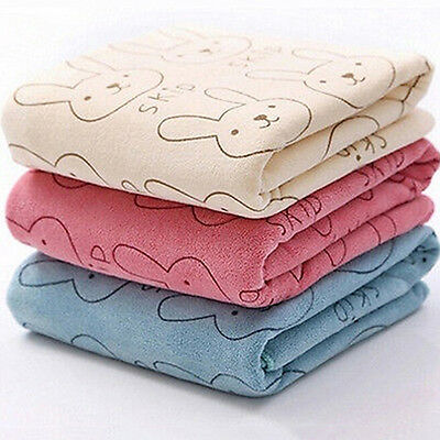 Baby Infant Newborn Rabbit Cartoon Soft Bath Feeding Towel Washcloth Unique