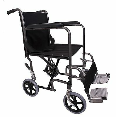 Angel Mobility Lightweight Transit Portable Travel Folding Wheelchair Transfer