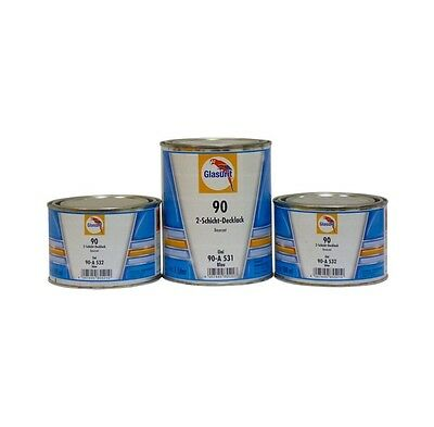 Base Glasurit 90A 307  GLASURIT  ROSSO OSSIDO  0,5 L