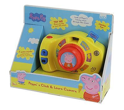Inspiration Works Peppa's Click and Learn Camera Peppa Pig Toy New
