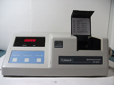 Turner SP 830 Spectrophotometer