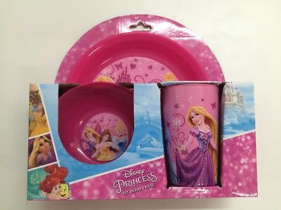 PRINCESS 3-PIECE DINNER SET : Great for Girls : 190 : WH3 : NEW