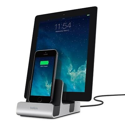 Belkin PowerHouse Lightning and 30-Pin Charging Dock for iPhone 4S and earlier