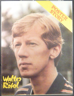Poster story AUTO SPRINT WALTER ROHRL 8 pagine piegate