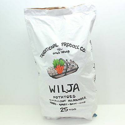 NEW Quality Wilja Potatoes Excellent Allrounder Locally Grown 2016 Season 25kg