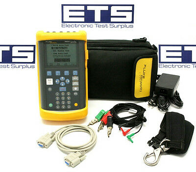 Fluke Networks 990DSL CopperPro Loop Tester Version 4.3.28 WB & TDR Options