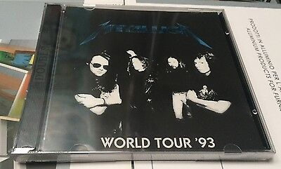 METALLICA - WORLD TOUR '93 - CD  LIVE  No CDR - RARO SIGILLATO SEALED MINT