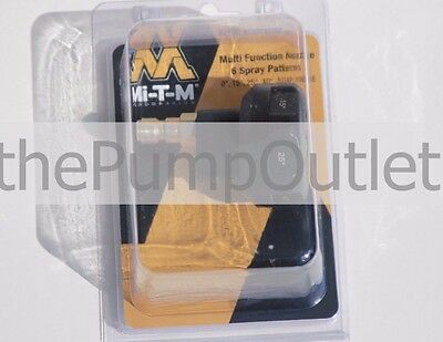 Mi-T-M Pressure Washer Multi 6 Pattern Spray Nozzle 4.0 4200 PSI AW-7200-004