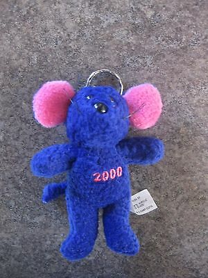 Little Mouse Plush  Figurine Key Ring  Key Chain