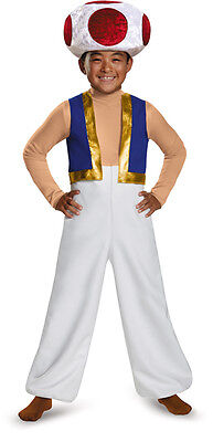 Toad Boys deluxe costume Super Mario Brothers