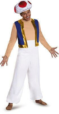 Toad Adult deluxe costume Super Mario Brothers