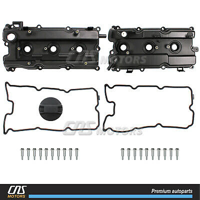 Valve Cover & Gasket RIGHT & LEFT for 02-09 I35 Altima Maxima Murano Quest 3.5L