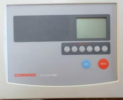 Corning PH Meter Model 440 Powers Up.