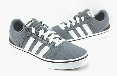 ADIDAS MEN'S SHOES Neo HAWTHORN ST F98954 GRAY Canvas Casual ...