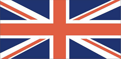 4 x Union Jack Stickers 11cm x 6.5cm UK GB Flag Cars Crafts Free P+P