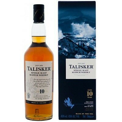 TALISKER SINGLE MALT SCOTCH WHISKY 10 YO 700 ml