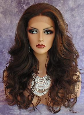 Long Curl Hand Tied Lace Front Wig Fs4.30 Gorgeous Captivating  Us Seller 266