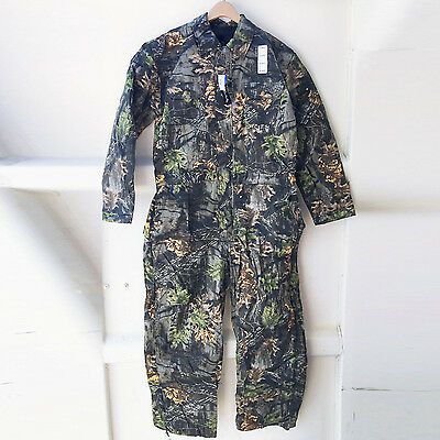 New WFS Element Gear Camouflage Mens Insulated Coverall Camo Hunting Jumpsuit