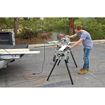 Heavy Duty Mobile Foldable Portable Miter Saw Stand