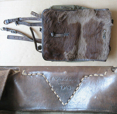 Wwii Marked German Field Backpack Tornister 1943
