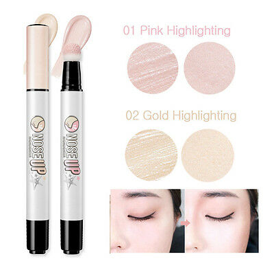 [PERIPERA] Nose Up Highlighter and Shadow Contour Liquid Brush Pen Type 3g KOREA
