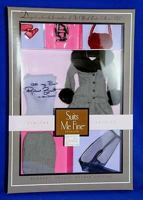 Barbie Suits Me Fine Outfit Accessory NRFB Signed By Robert Best Club Exclusive