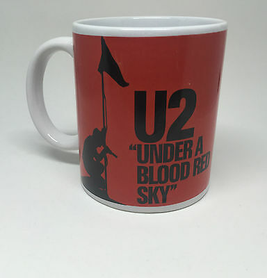 U2 Coffee Collectible Mug Under A Blood Red Sky Live Nation Tea Cup