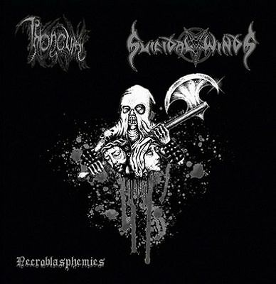 "THRONEUM / SUICIDAL WINDS -SPLIT 7"" EP- Necroblasphemies"