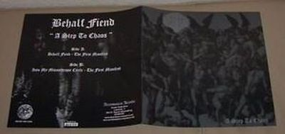 "BEHALF FIEND -7"" EP- A Step to Chaos (Limited 444)"