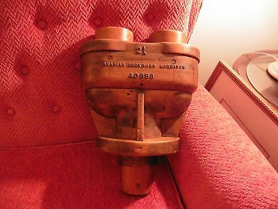 Antique Industrial Wood Foundry Mold - Pattern Factory Steampunk