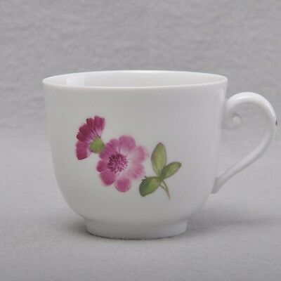 Meissen Cup Miniature Dolls Time Point Flower Painting 1740-1780